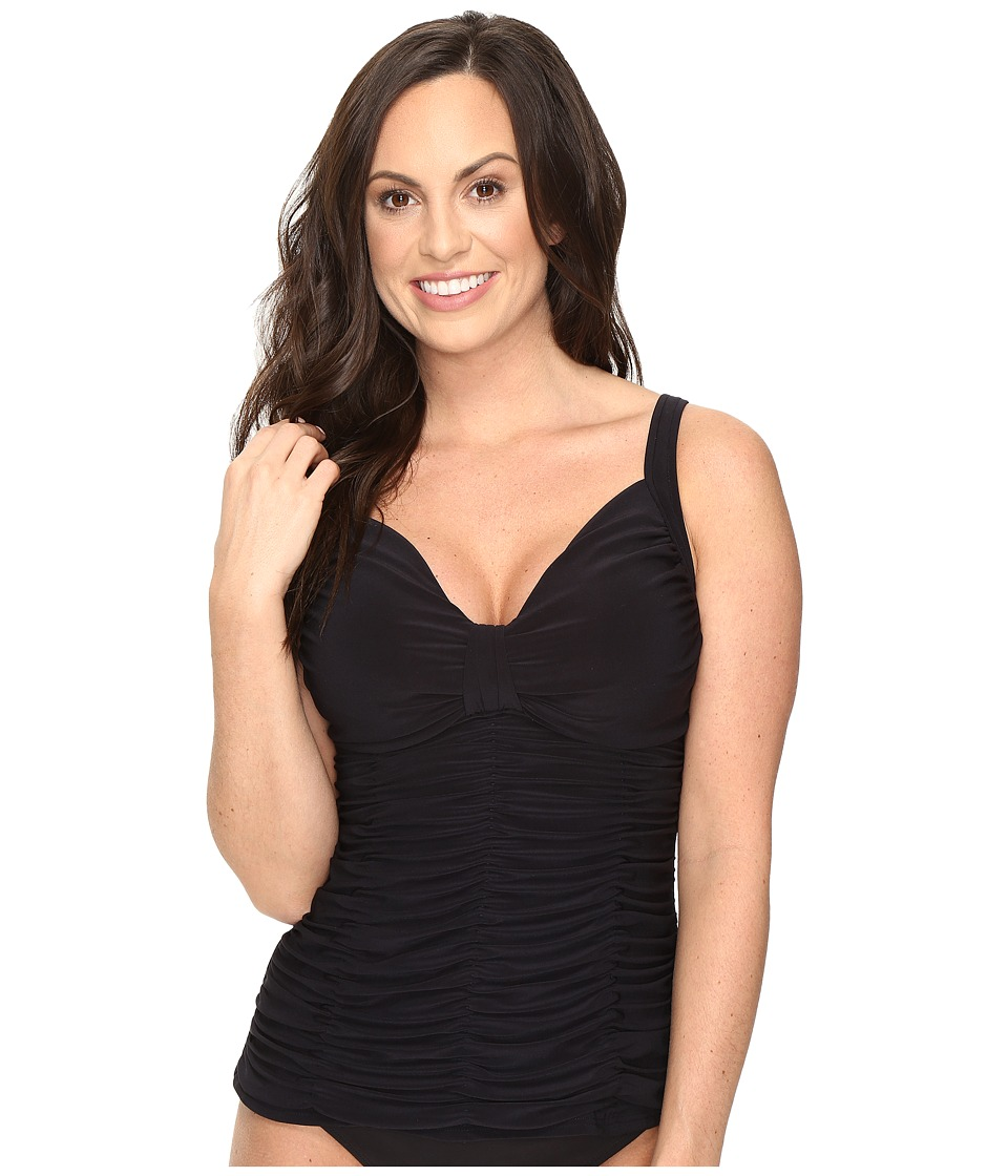 Magicsuit Solids Bea Top (DD Cup) (Black) Women