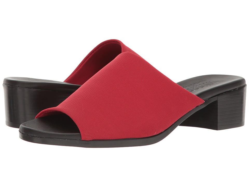 Munro - Beth (Red Stretch Fabric) Women's Shoes