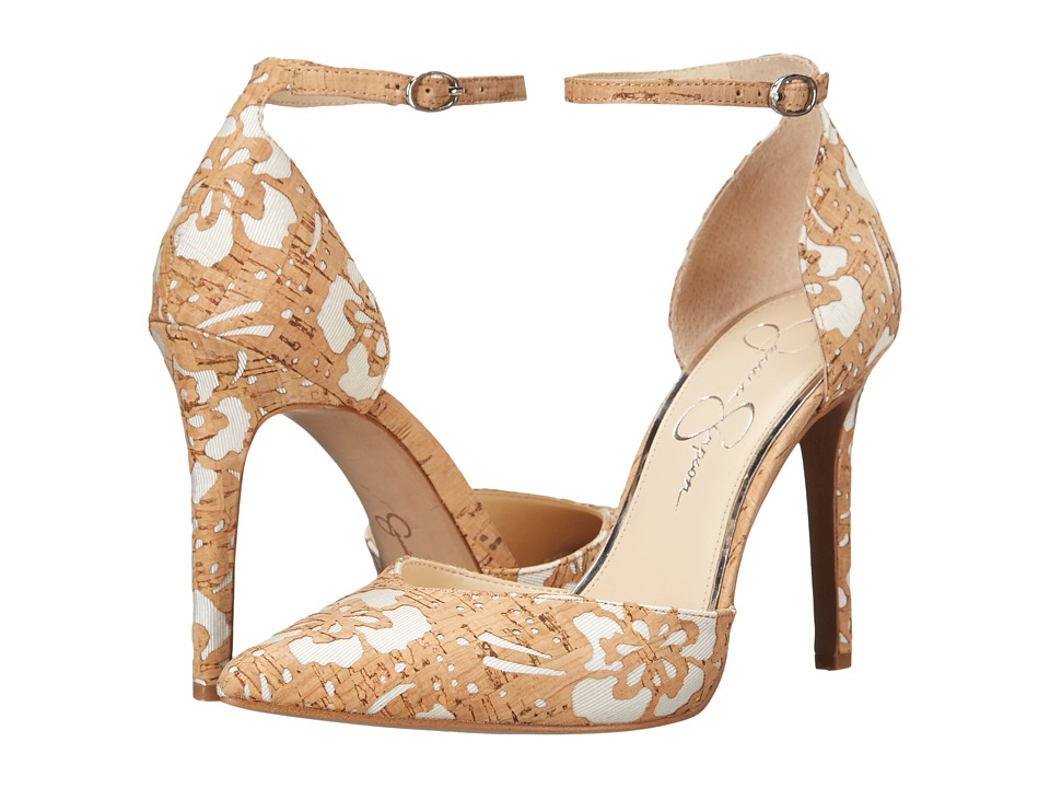 Jessica Simpson Cirrus (Natural/White) High Heels