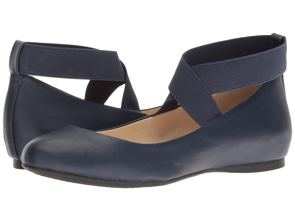Jessica Simpson - Mandayss (Navy Baby) Women's Flat Shoes