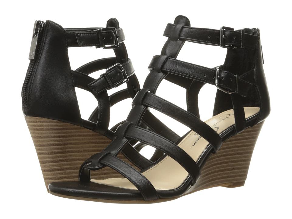 Jessica Simpson - Shalon (Black) Women's Shoes
