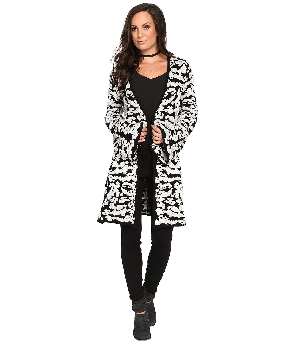Union of Angels - Alaska Jacket (Black/White) Women's Coat