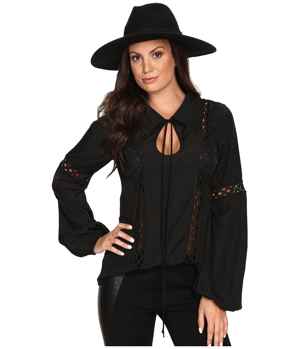 Union of Angels - Amelia Blouse (Black) Women's Blouse