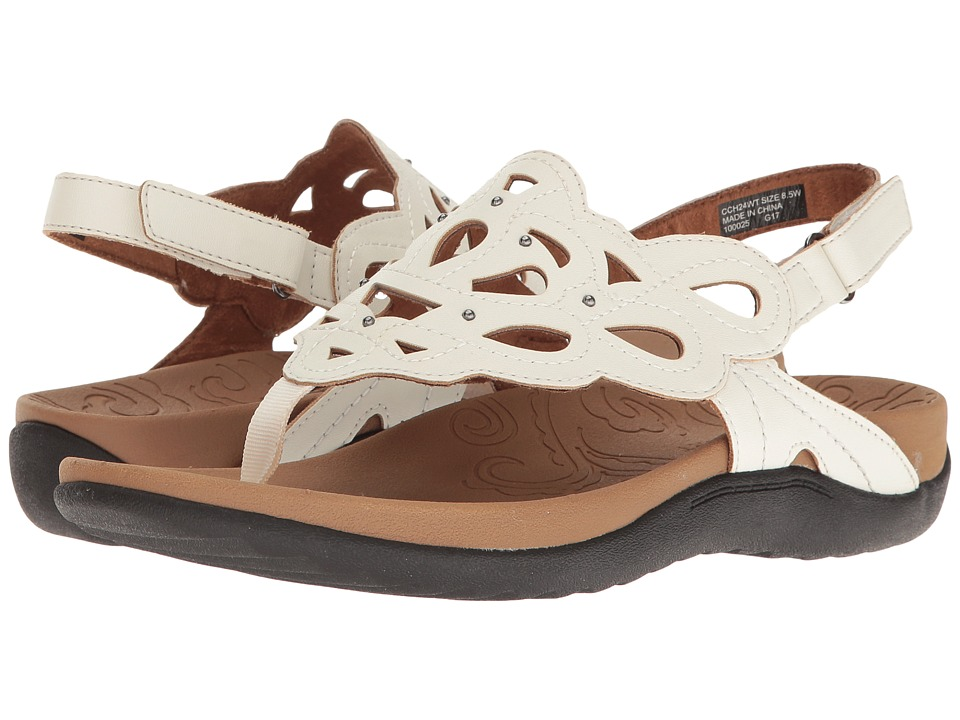 Rockport - Ridge Sling (White) Women's Shoes