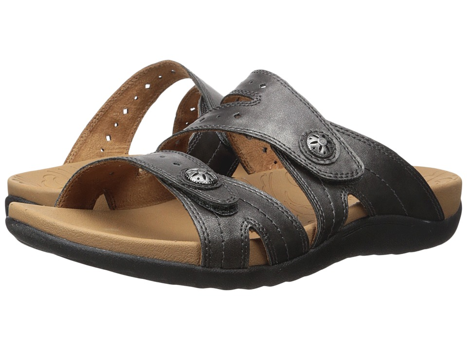 Rockport - Ridge Button Slide (Pewter) Women's Shoes