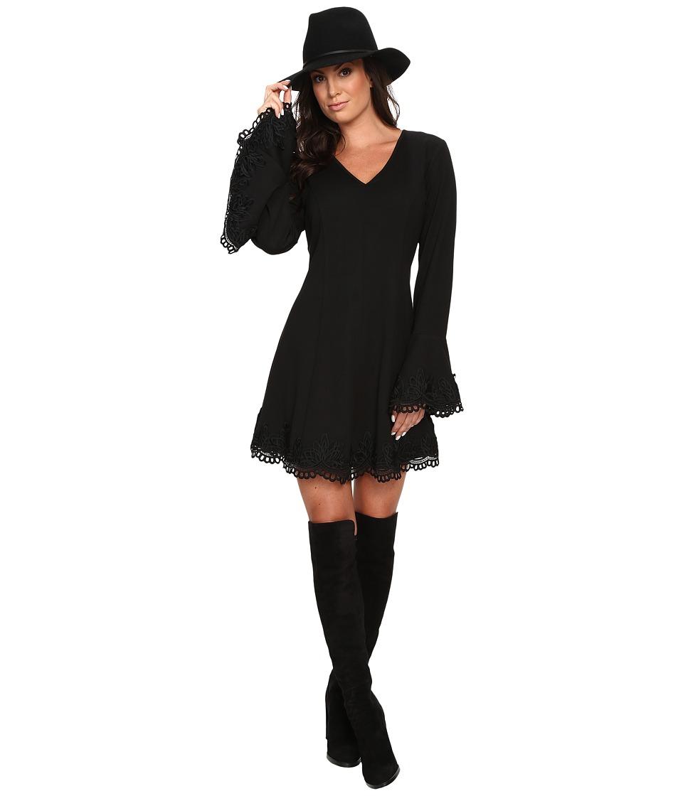Union of Angels - Caressa Dress (Black) Women's Dress