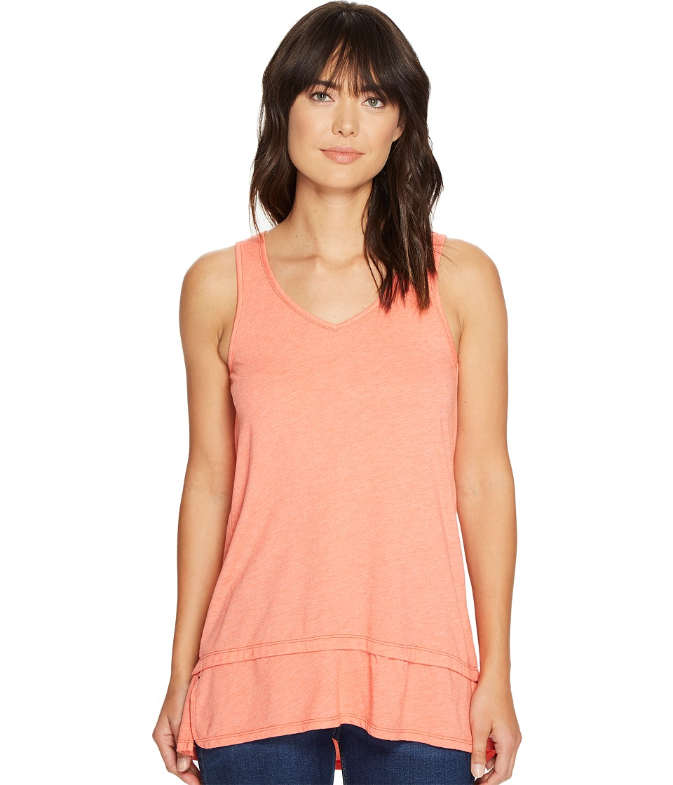 Mod-o-doc - Heather Jersey Banded Tank Top (Tigerlily) Women's Sleeveless