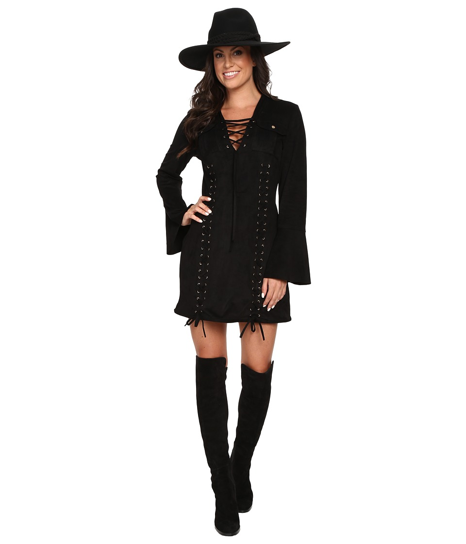 Union of Angels - Meygan Dress (Black) Women's Dress