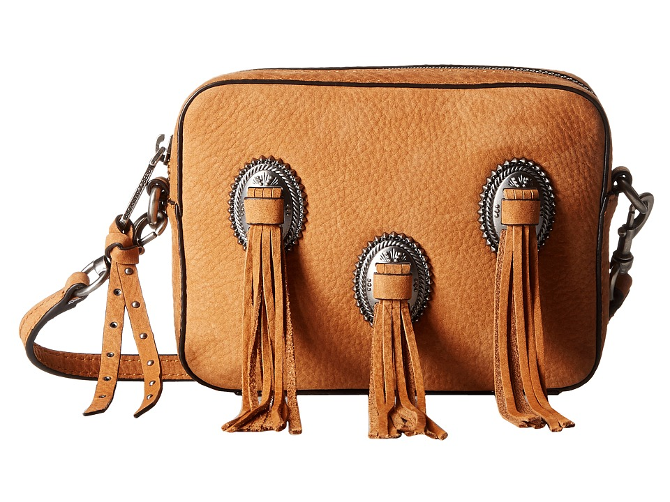 Rebecca Minkoff - Western Crossbody (Almond) Cross Body Handbags