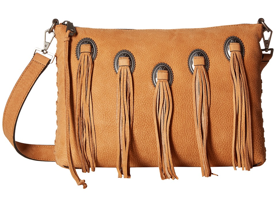 Rebecca Minkoff - Western Medium Crossbody (Almond) Cross Body Handbags