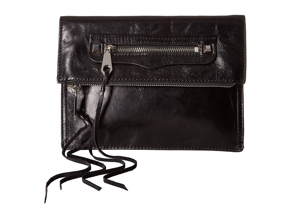 Rebecca Minkoff - Small Regan Clutch (Black 2) Clutch Handbags