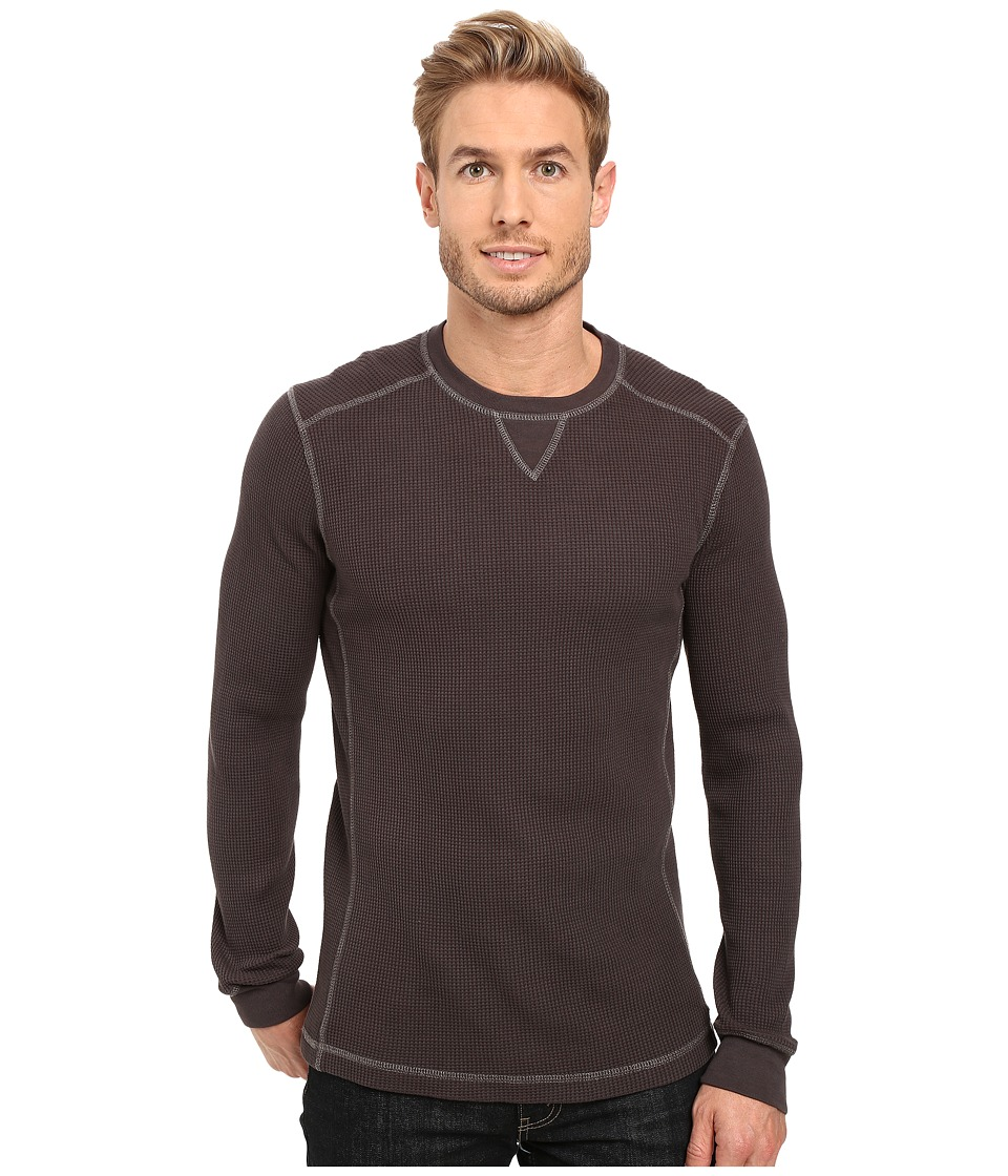 Mod-o-doc - Seacliff Long Sleeve Crew Thermal Crew (Metallica) Men's Long Sleeve Pullover