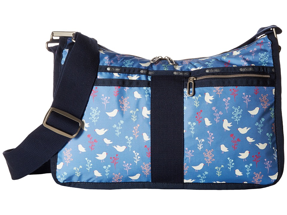 LeSportsac - Everyday Bag (Song Birds Blue) Handbags