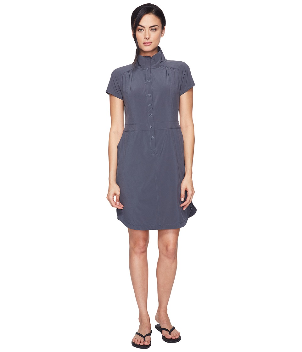Prana - Shadyn Dress (Coal) Women's Dress