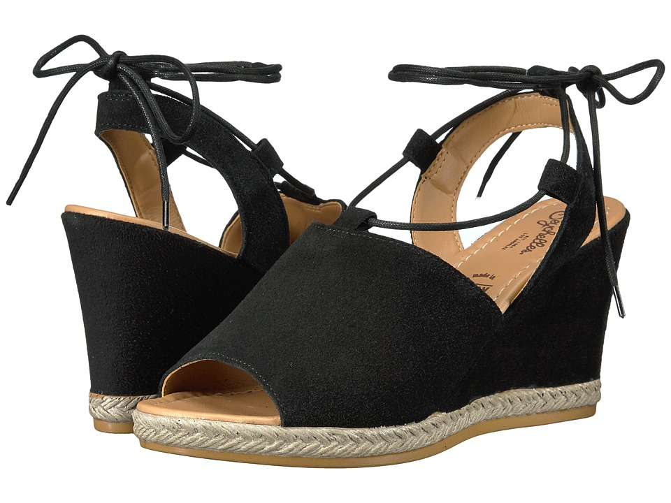 Seychelles - Whatnot (Black) Women's Wedge Shoes
