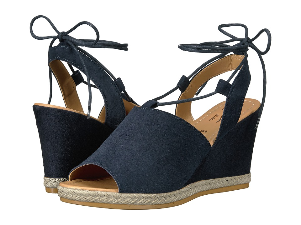 Seychelles - Whatnot (Navy) Women's Wedge Shoes