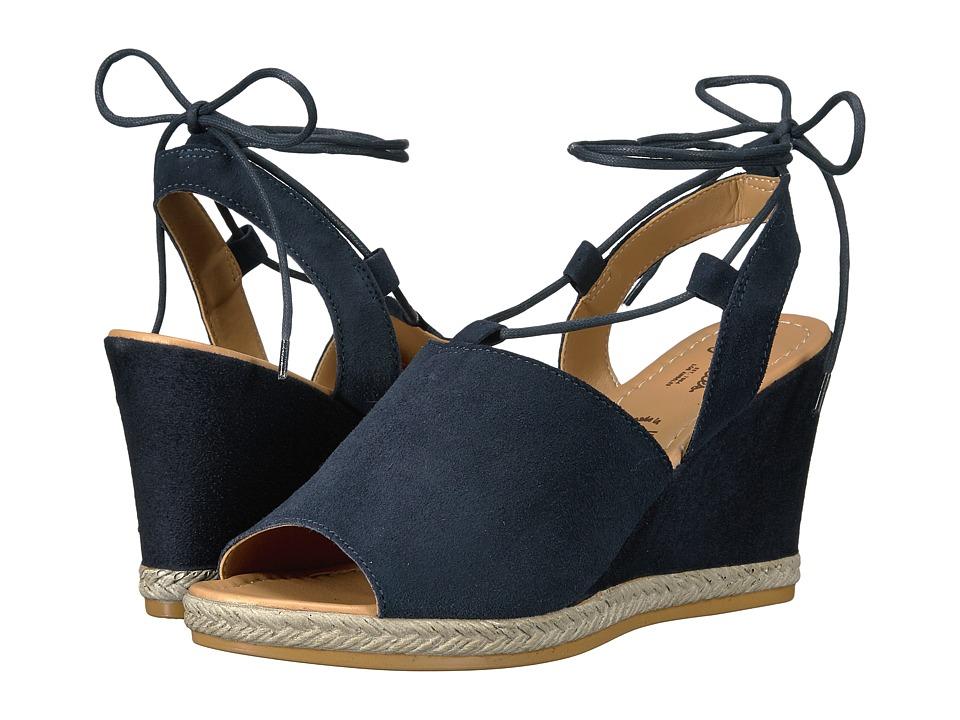 Seychelles - Whatnot (Navy) Women's Wedge Shoes