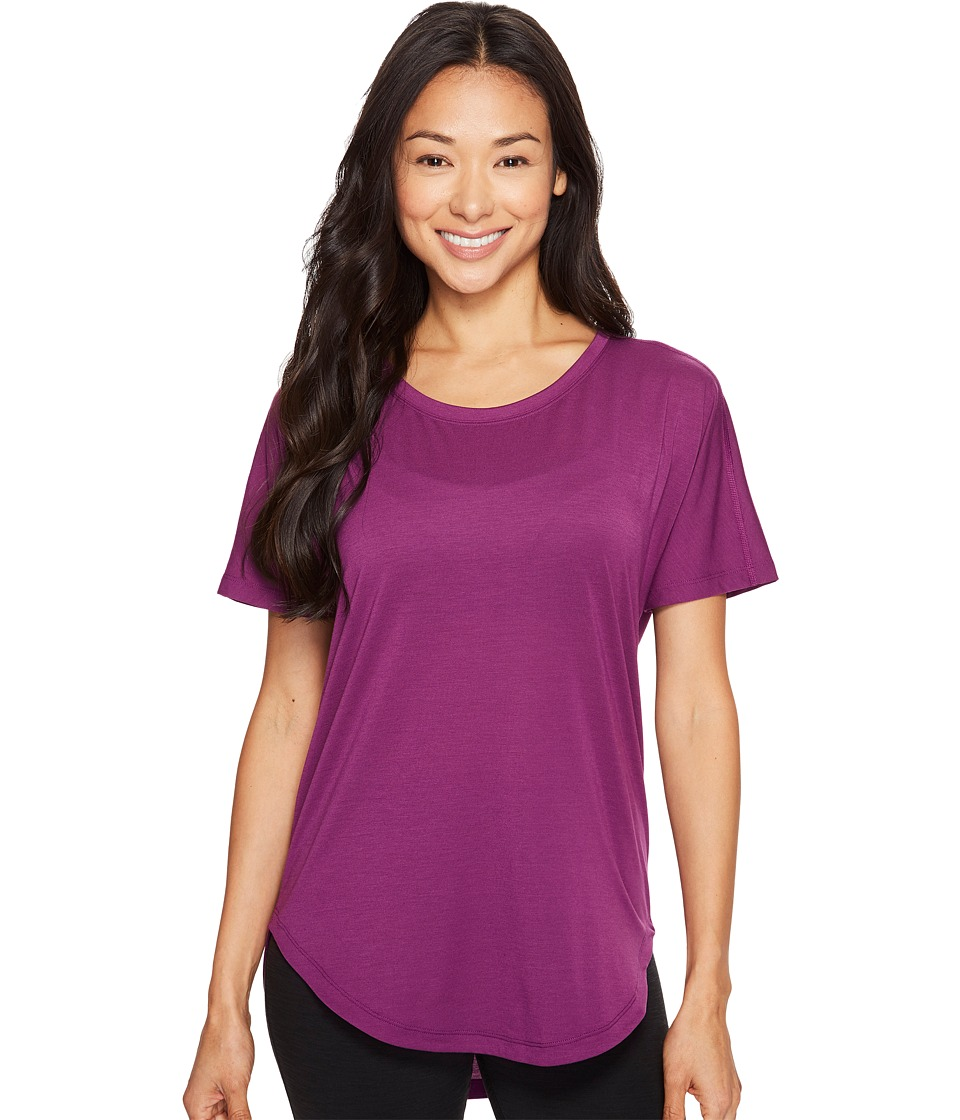Lucy - Final Rep S/S (Gloxinia) Women's Short Sleeve Pullover