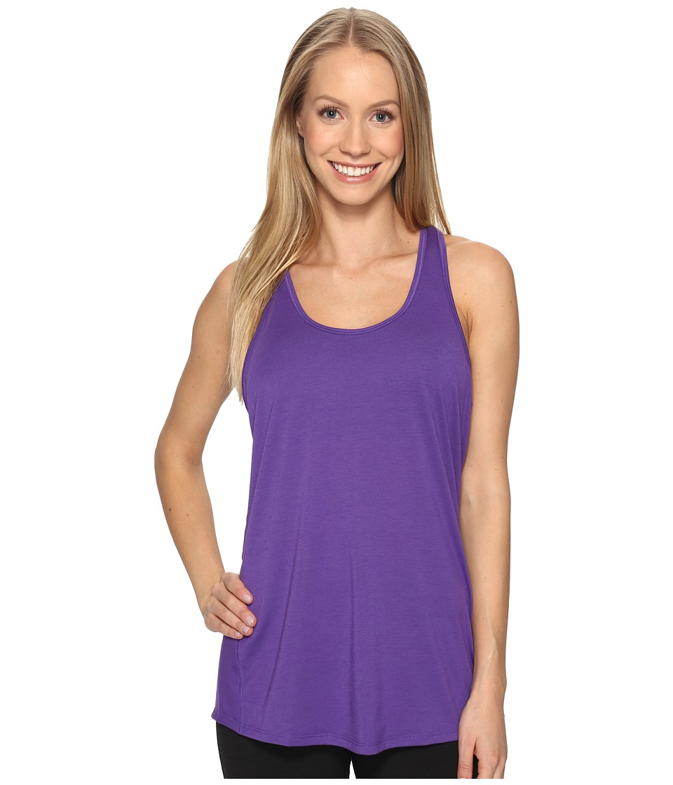 Lucy - Workout Racerback (Prism Violet) Women's Clothing
