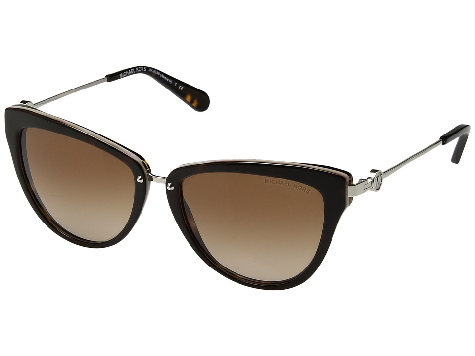 Michael Kors - Abela II (Dark Tortoise/Brown Gradient) Fashion Sunglasses