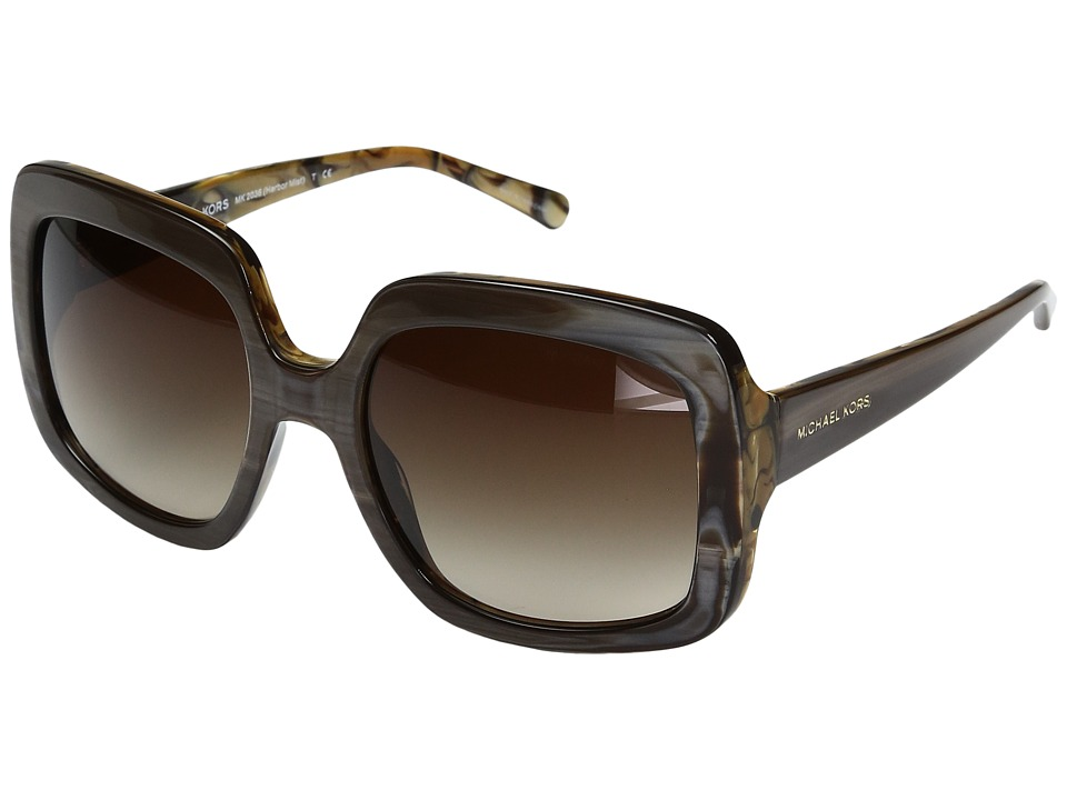 Michael Kors - Harbor Mist (Bronze/Smoke Gradient) Fashion Sunglasses