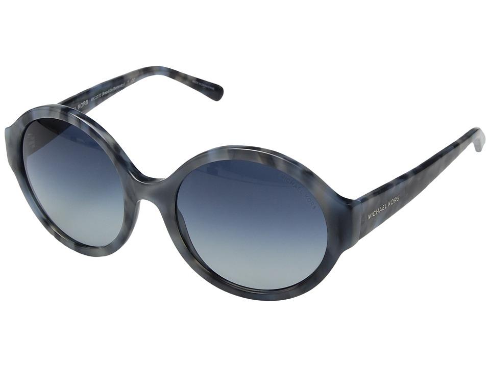 Michael Kors - Seaside Getaway (Blue/Blue Gradient) Fashion Sunglasses