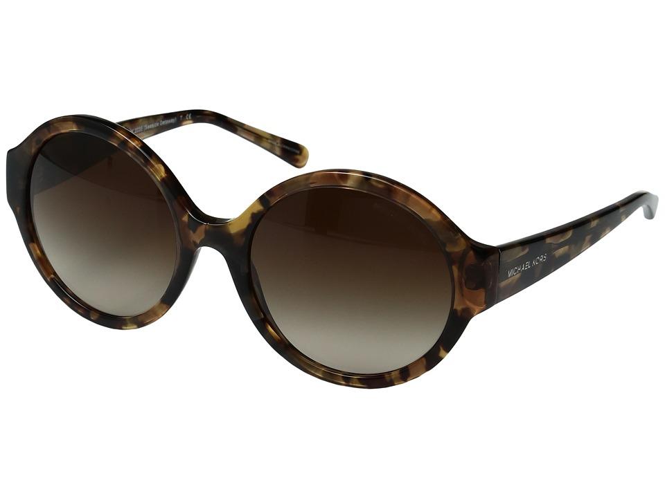 Michael Kors Seaside Getaway (Brown/Smoke Gradient) Fashion Sunglasses