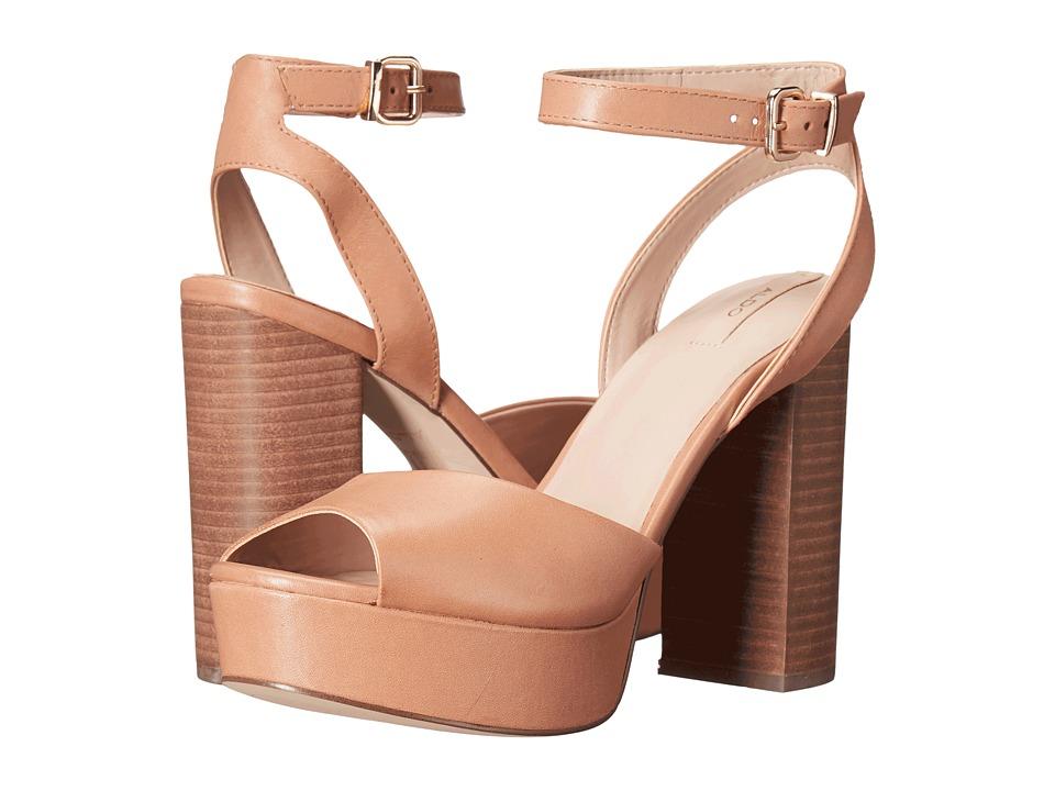 ALDO - Miguelina (Cognac) Women's Dress Sandals