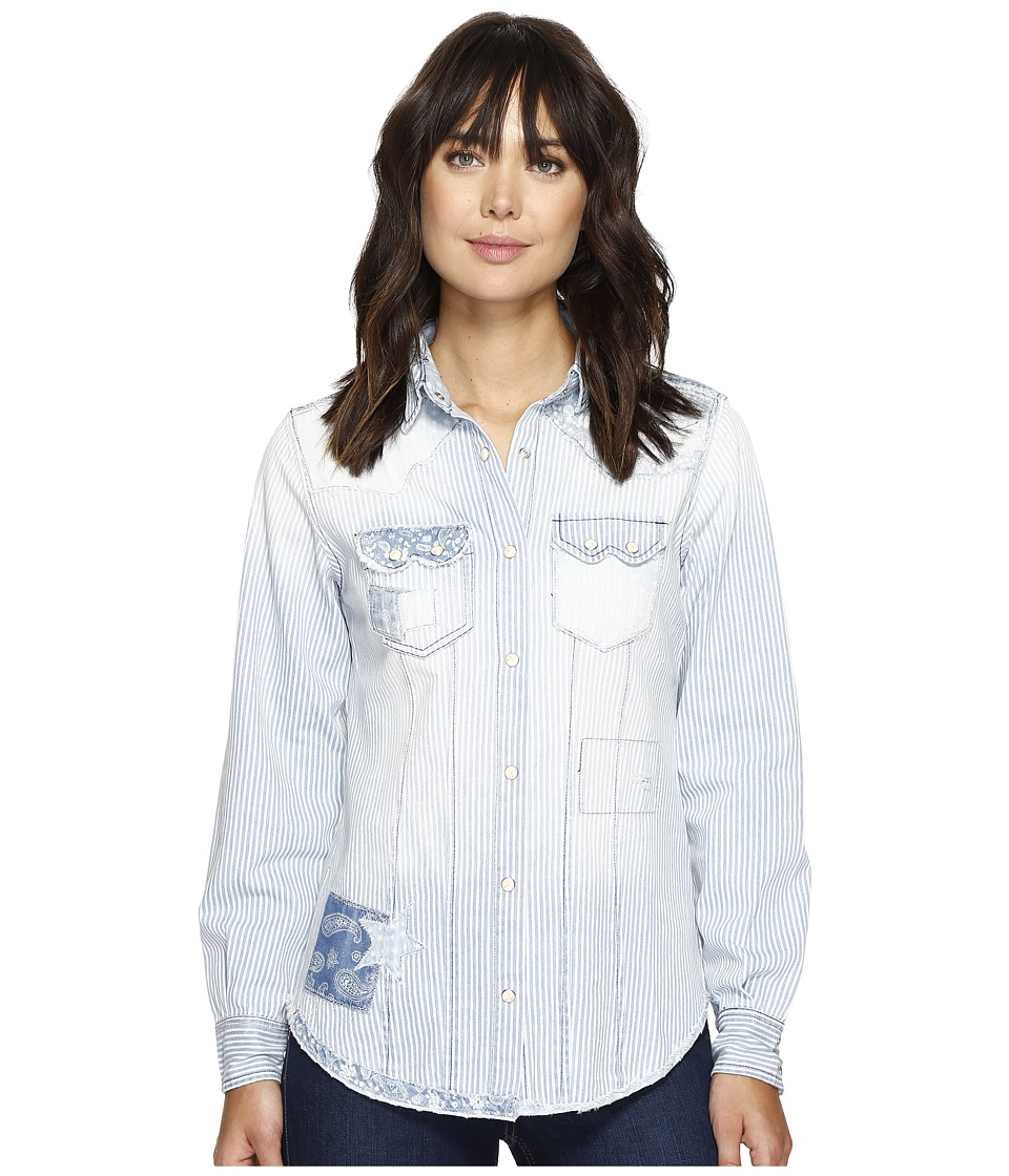 Tasha Polizzi - Austin Shirt (Chambray) Women's Clothing