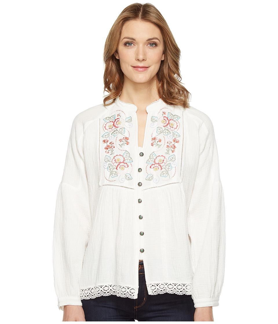 Tasha Polizzi - Dillon Shirt (Ivory) Women's Clothing
