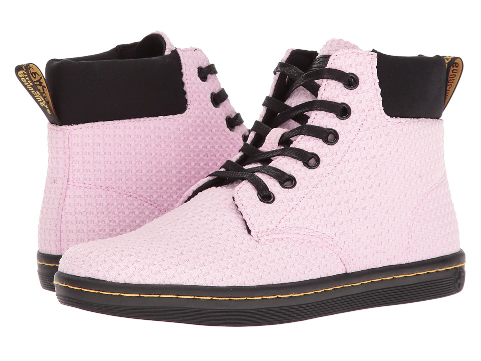Dr. Martens Maelly WC (Bubble Gum/Black Waffle Cotton/Fine Canvas) Women