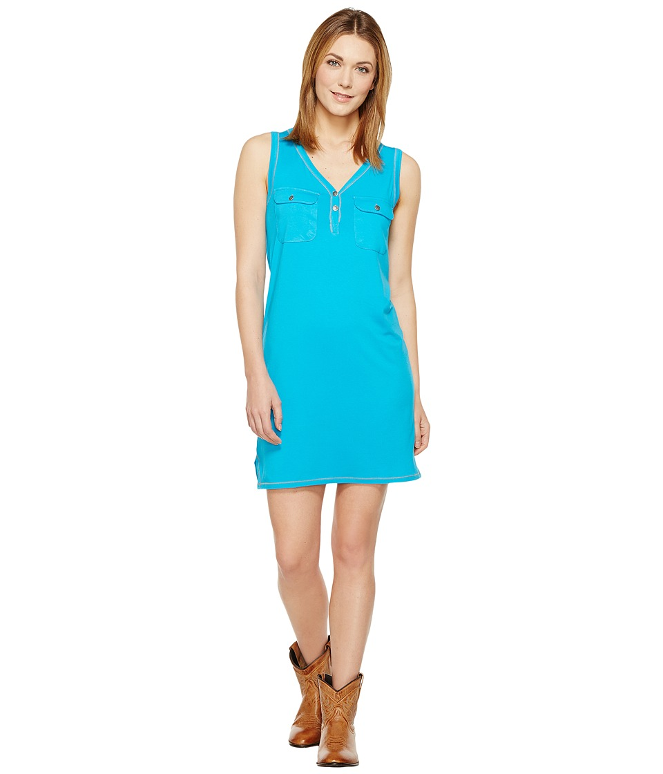 Tasha Polizzi - Icon Dress (Turquoise) Women's Dress