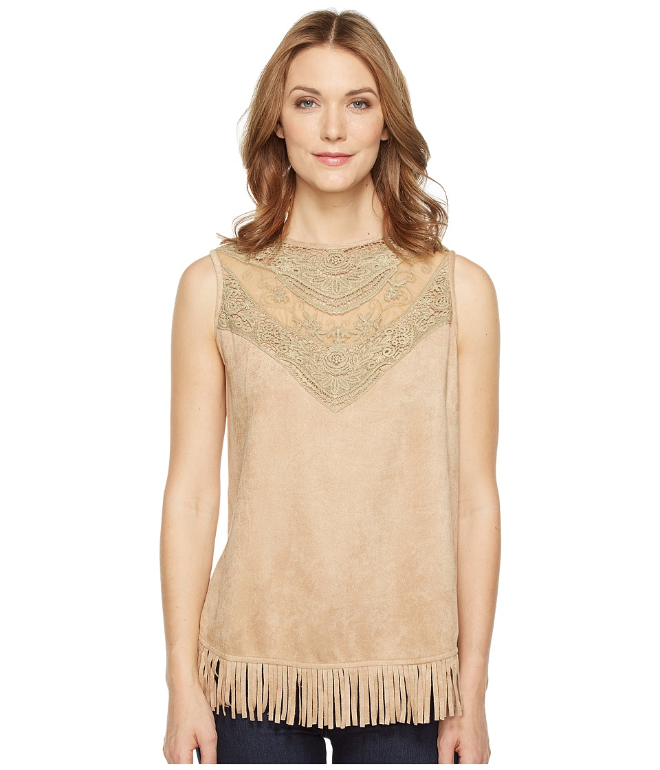 Tasha Polizzi Carrie Tank Top (Sand) Women