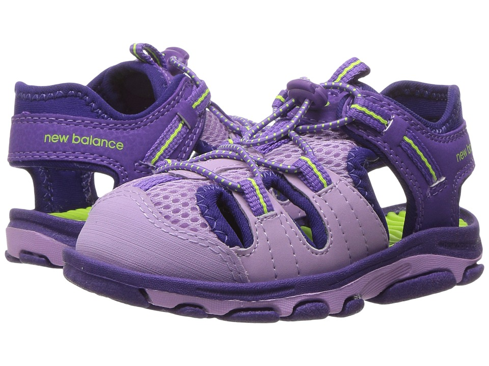 New Balance Kids Adirondack Sandal (Toddler/Little Kid) (Purple/Lilac) Girls Shoes