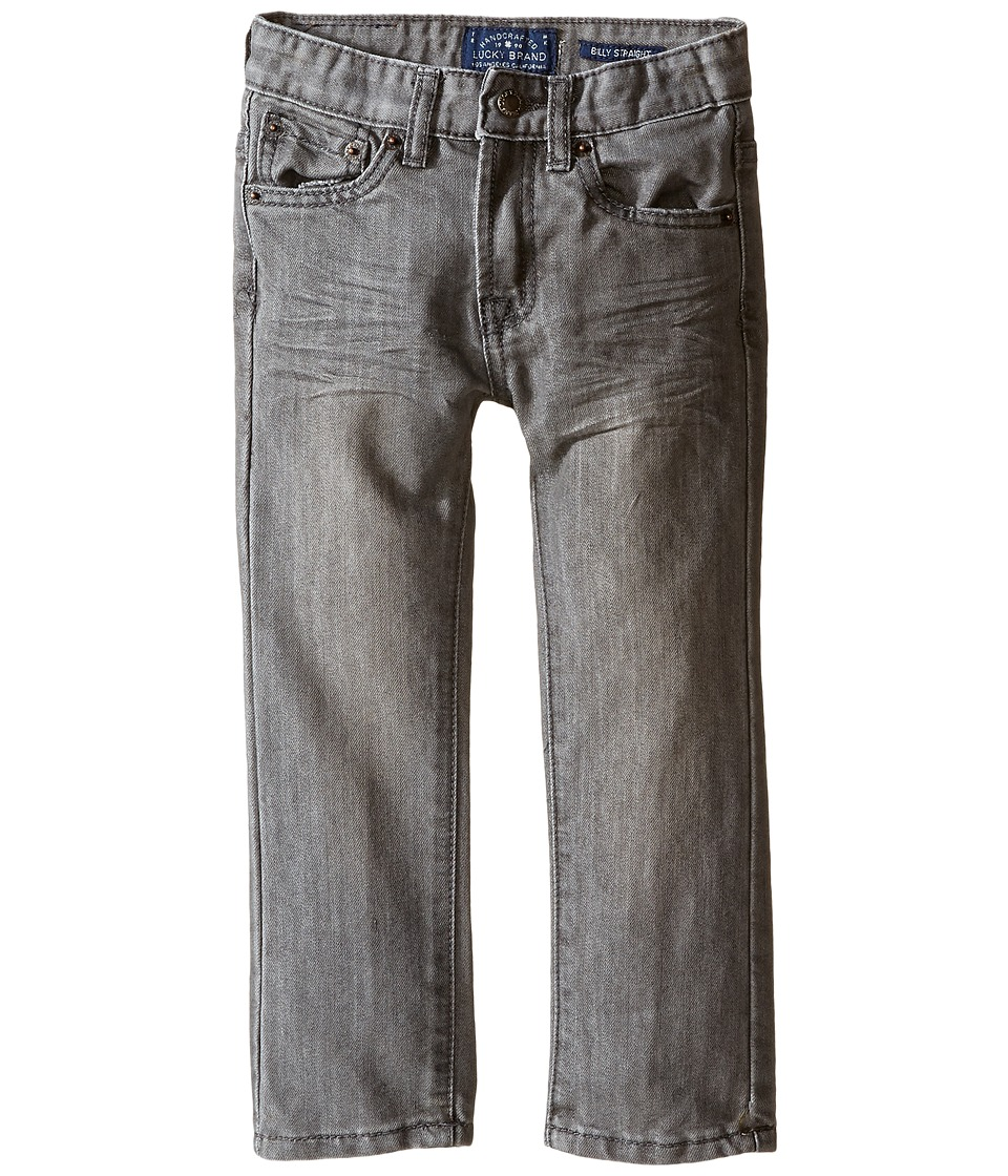 Lucky Brand Kids - Five-Pocket Denim Jeans in Castlerock (Toddler) (Castlerock) Boy's Jeans