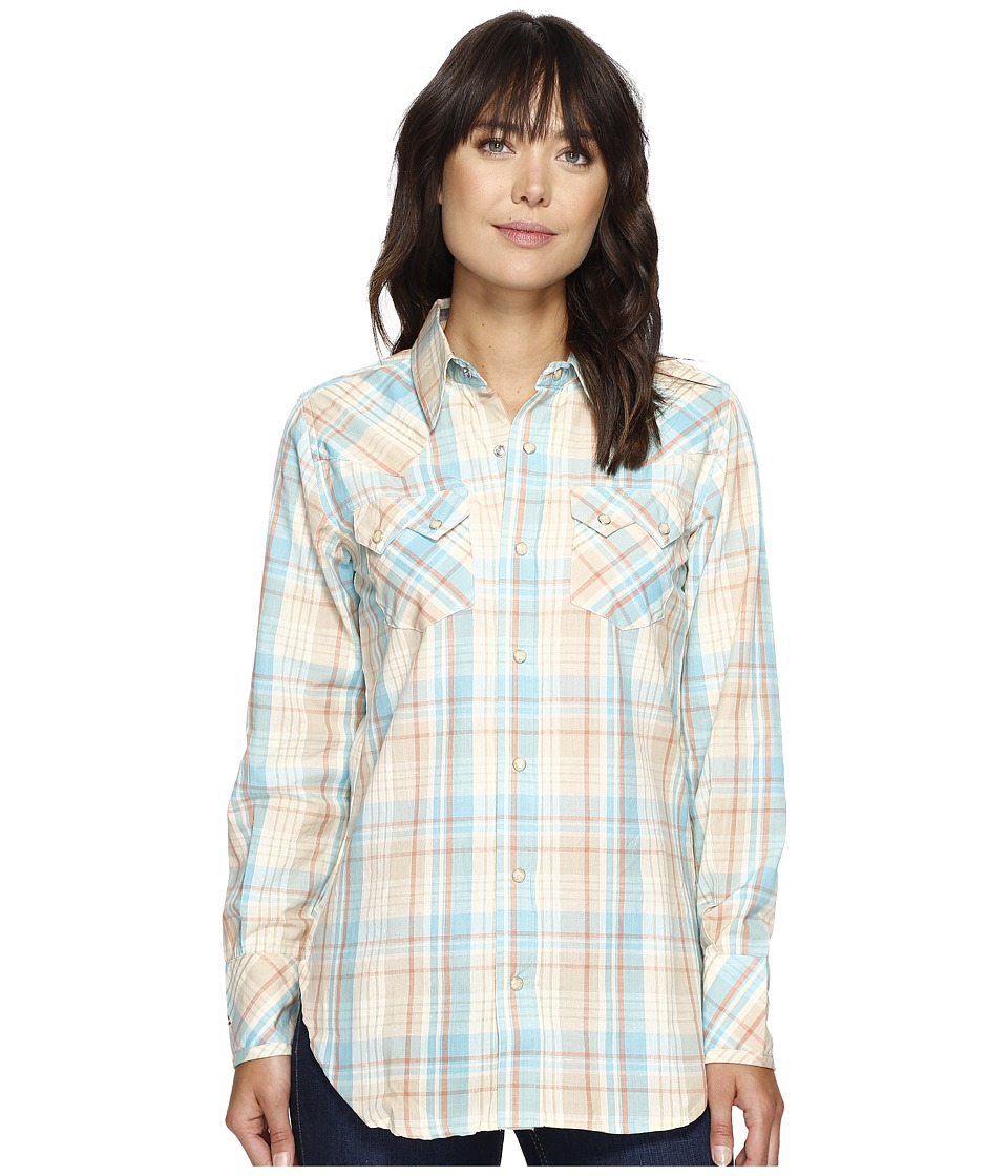 Tasha Polizzi - Warrior Shirt (Blue) Women's Clothing
