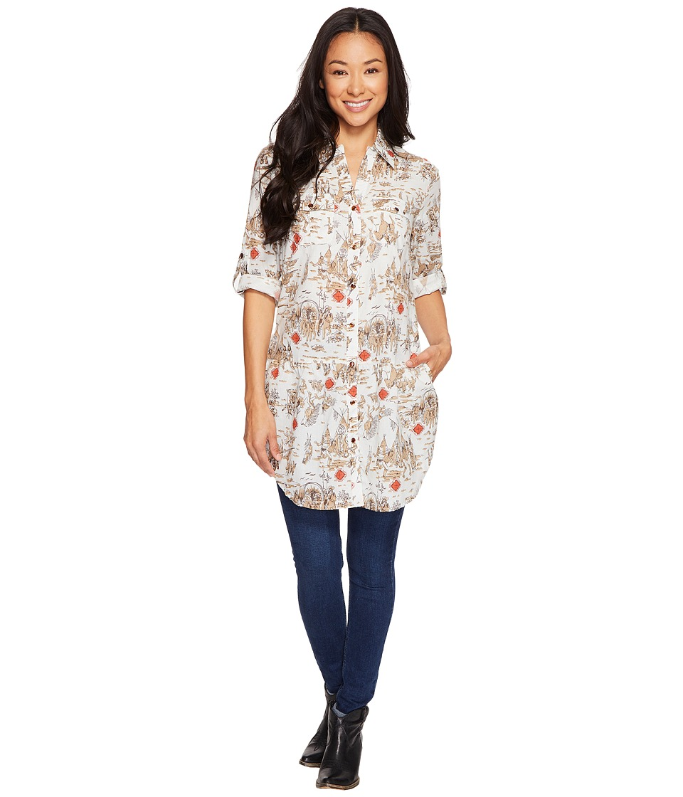 Tasha Polizzi - Four Corners Tunic (Multi 1) Women's Long Sleeve Button Up