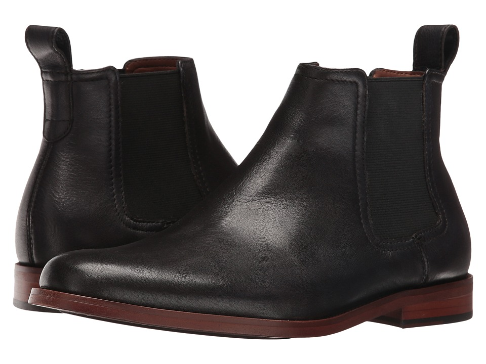 ALDO - Delano (Black Leather) Men's Shoes