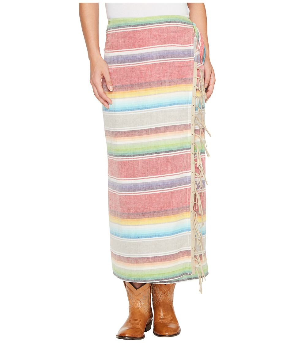 Tasha Polizzi - Serape Skirt (Red) Women's Skirt