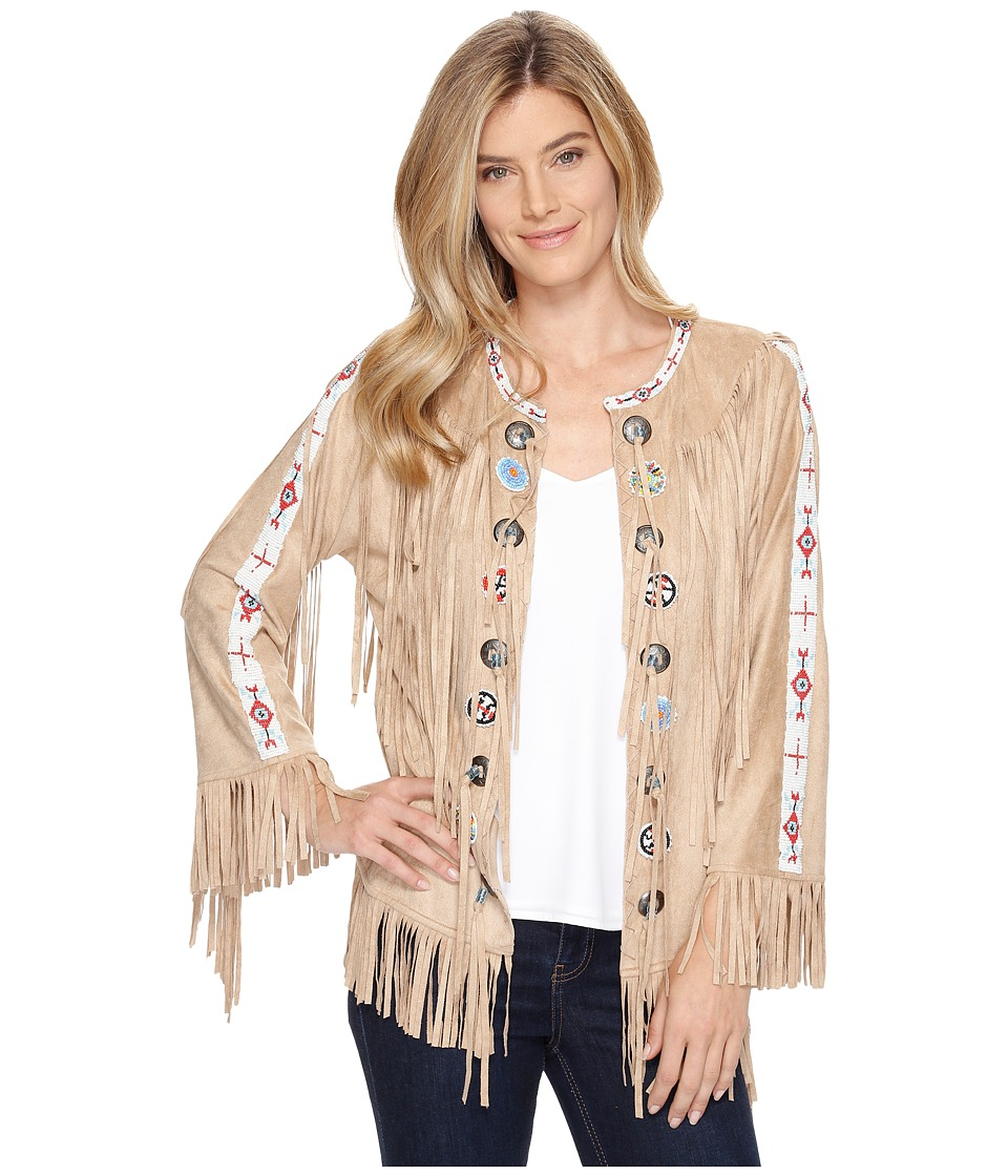 Tasha Polizzi - Pow Wow Jacket (Sand) Women's Coat