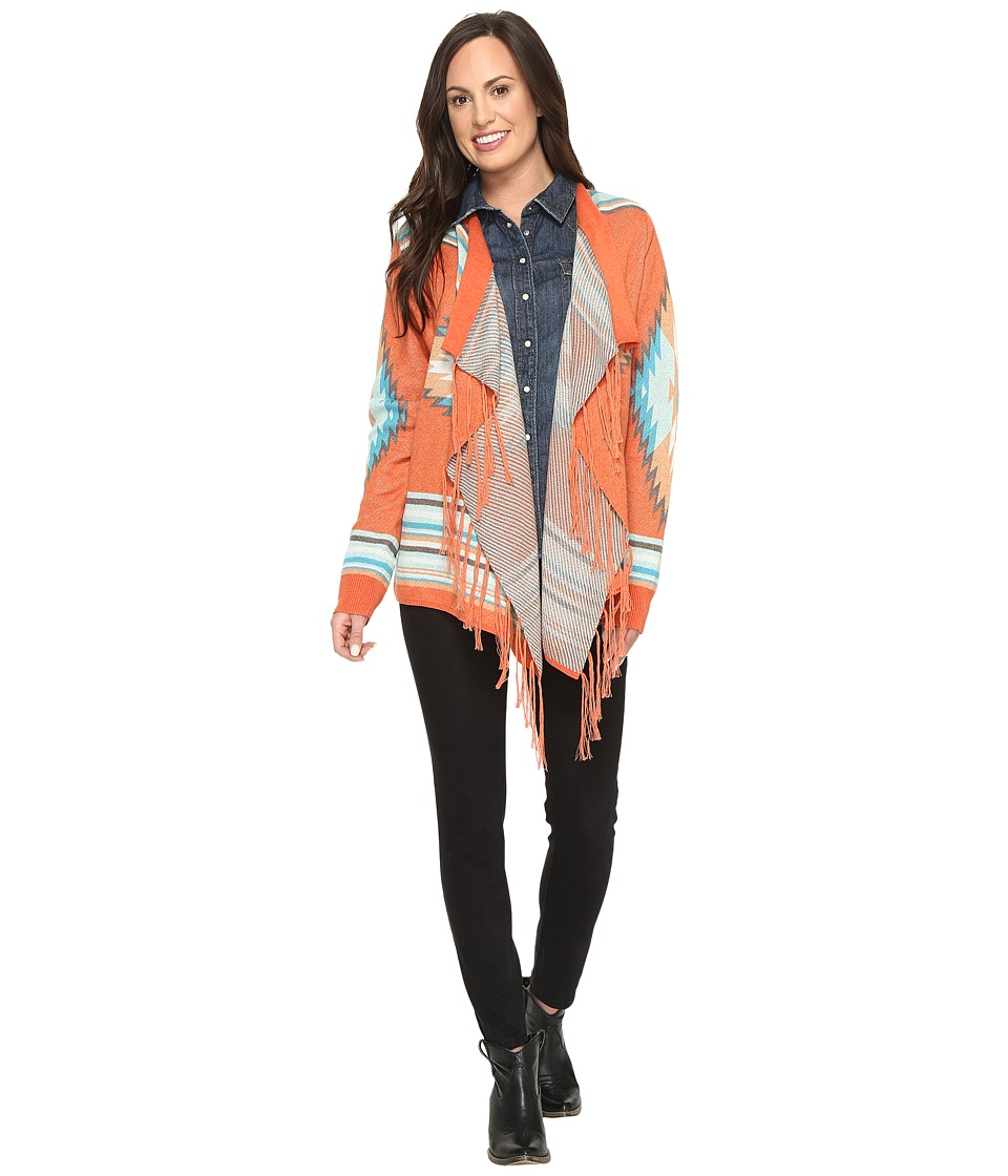 Tasha Polizzi - Arizona Cardigan (Coral) Women's Sweater