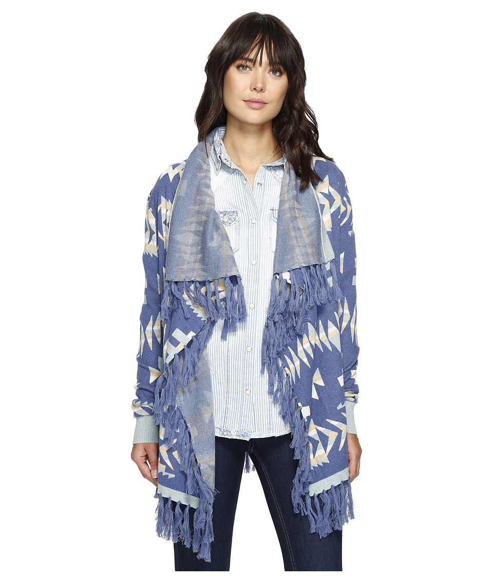 Tasha Polizzi - Talavera Cardigan (Blue) Women's Sweater