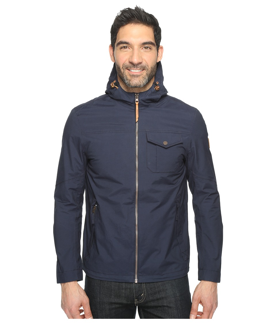 Timberland - Mount Eisenhower Dryvent Hooded Bomber (Dark Sapphire) Men's Coat
