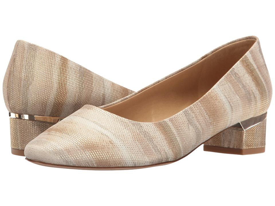 Vaneli - Atalie (Cream Kimbel Print) Women's 1-2 inch heel Shoes