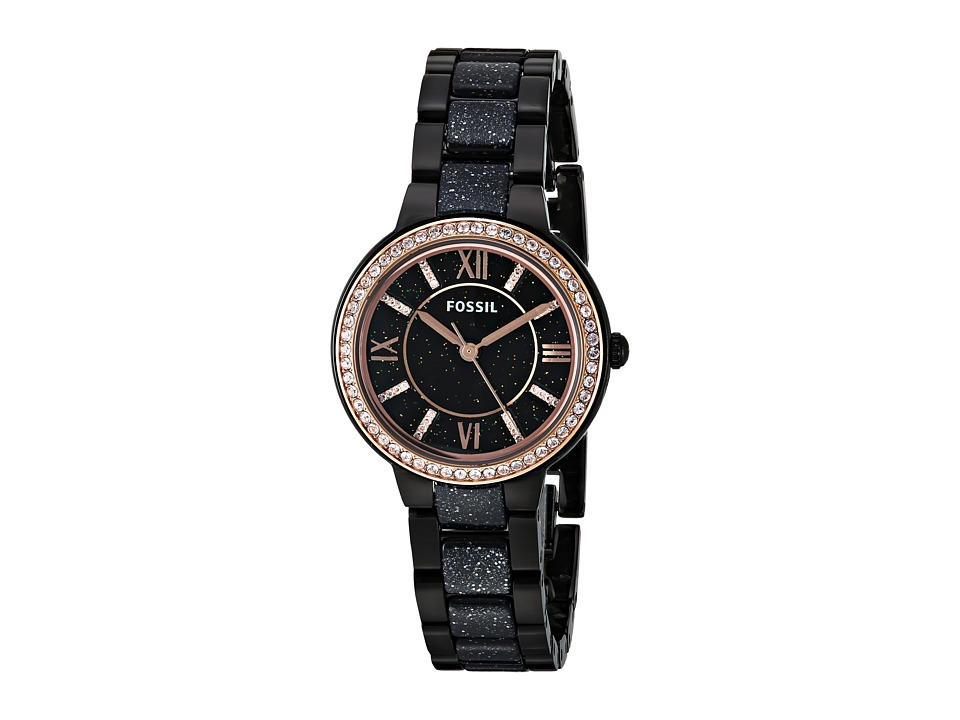 Fossil - Virginia - ES4118 (Black) Watches