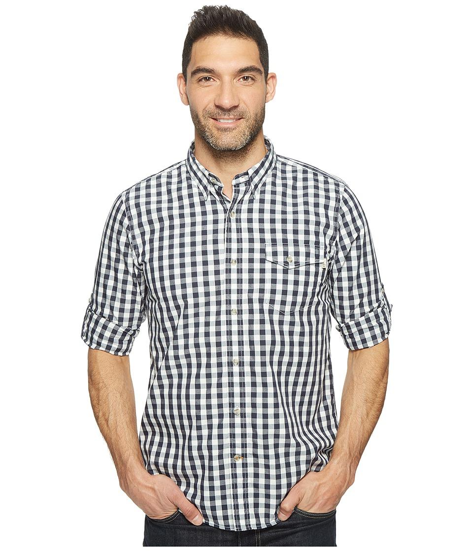 Timberland - Long Sleeve Still River Coolmax Plaid Shirt (Dark Sapphire Yarn-Dye) Men's Clothing