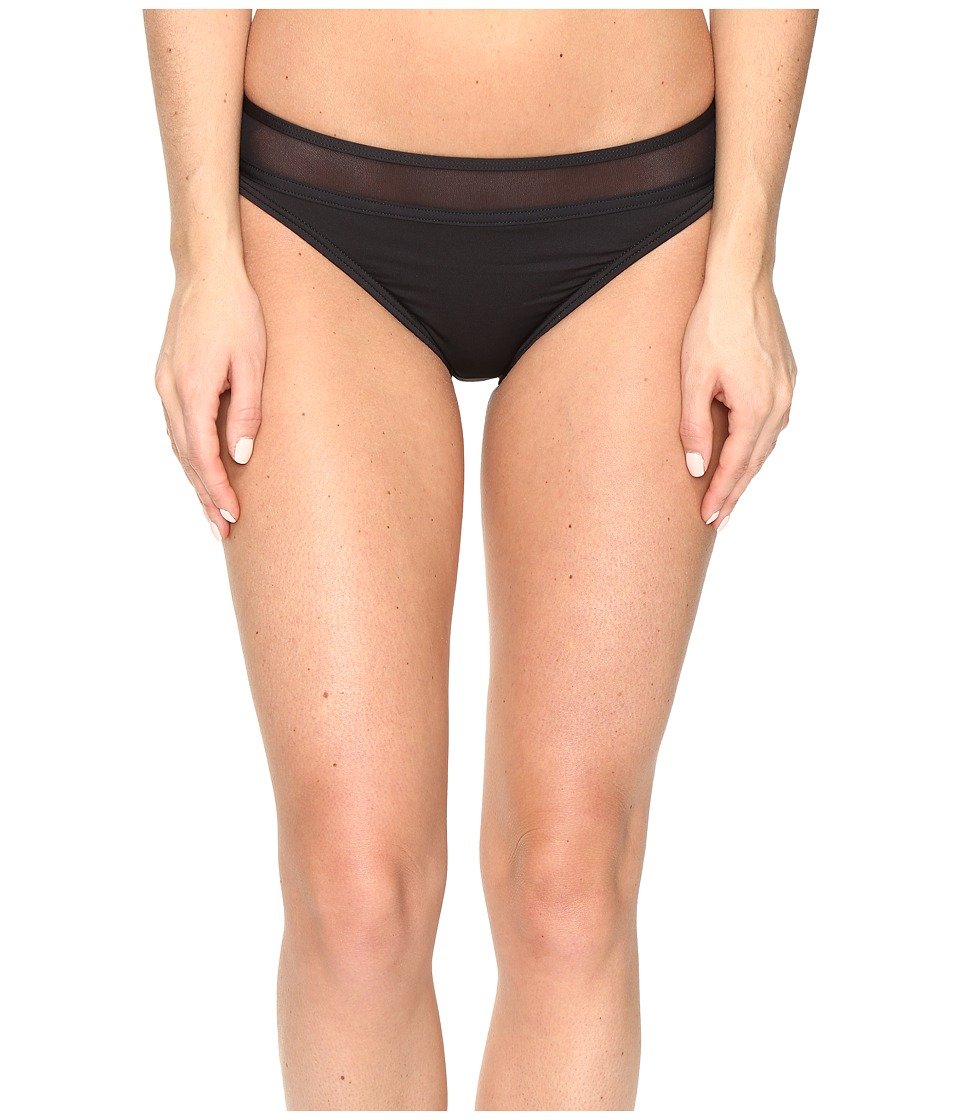 Tommy Bahama Mesh Solids Hipster Bikini Bottom (Black) Women