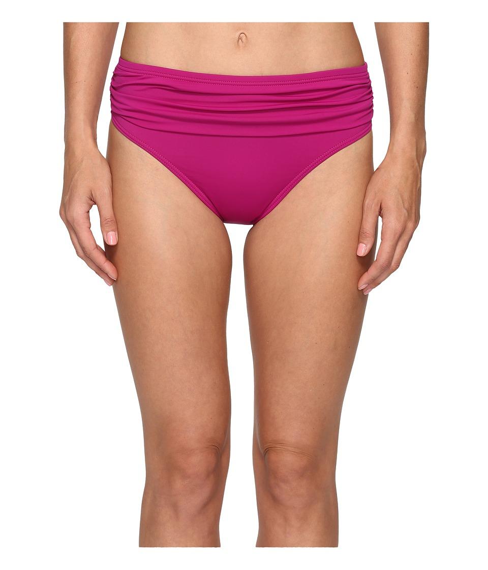Tommy Bahama - Pearl High-Waist Hipster Bikini Bottom (Wild Orchid Pink) Women's Swimwear