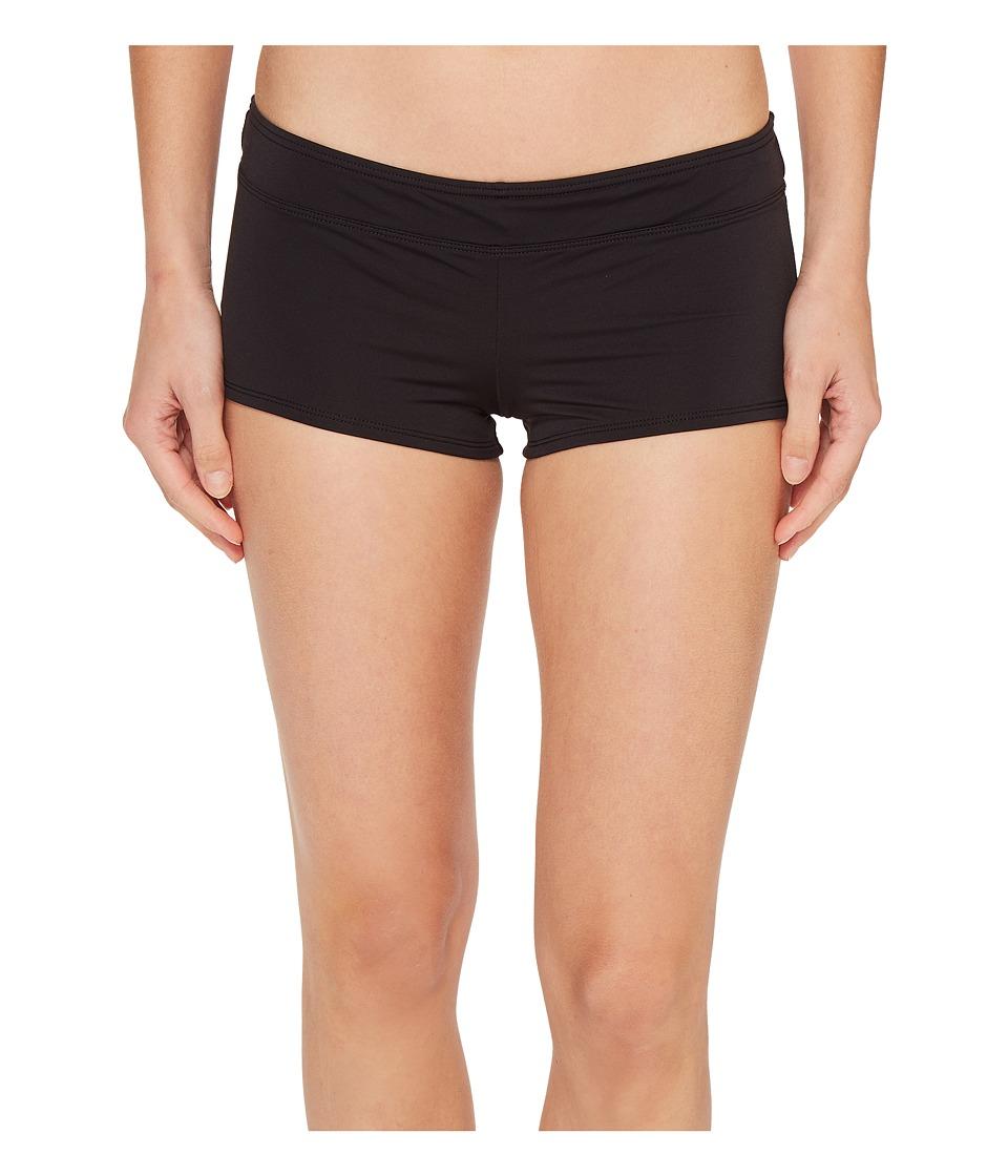 Tommy Bahama - Pearl Boyshort Bikini Bottom (Black) Women's Swimwear