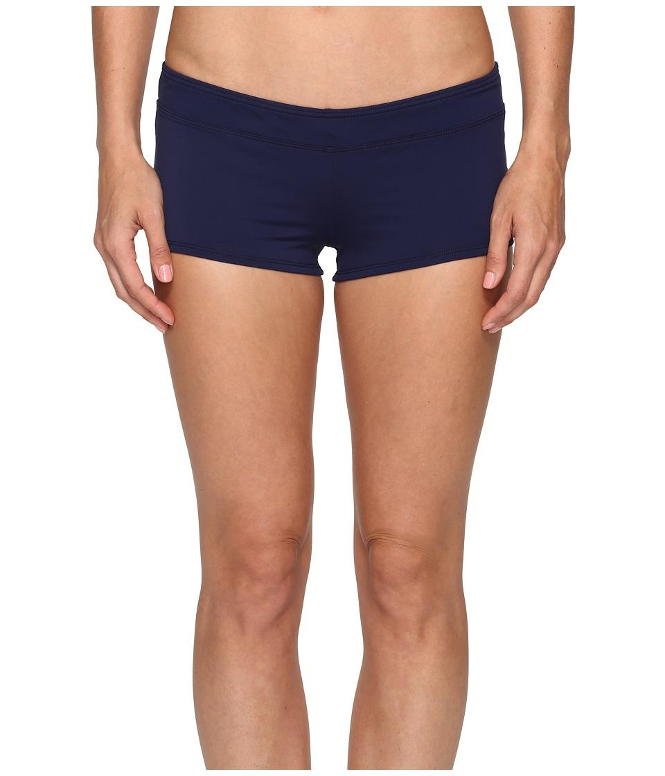 Tommy Bahama - Pearl Boyshort Bikini Bottom (Mare Navy) Women's Swimwear